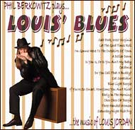 """Louis' Blues"" CD cover"